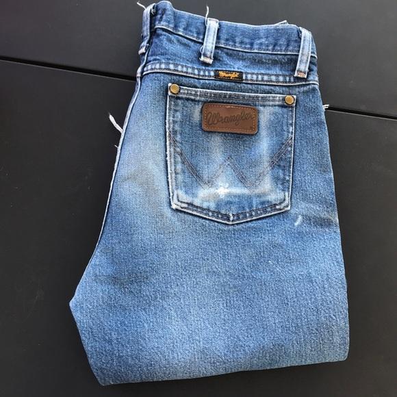 Wrangler Pants - Vintage Wrangler Jeans